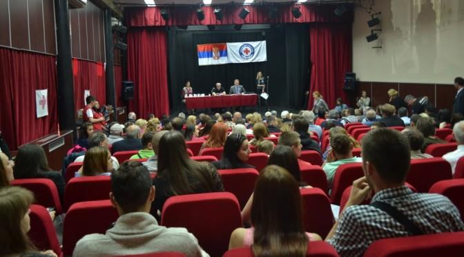 Свечана седница Скупштине Црвеног крста Чукарица