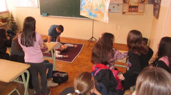 Обука у првој помоћи за основце и средњошколце